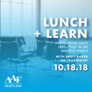 Lunch and Learn on October 18th